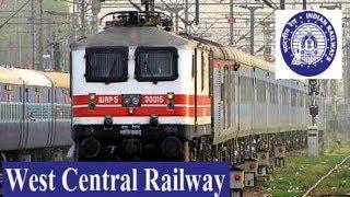 West Central Railway Recruitment - Railway Jobs - Freshers Jobs - 10th/12th pass Jobs