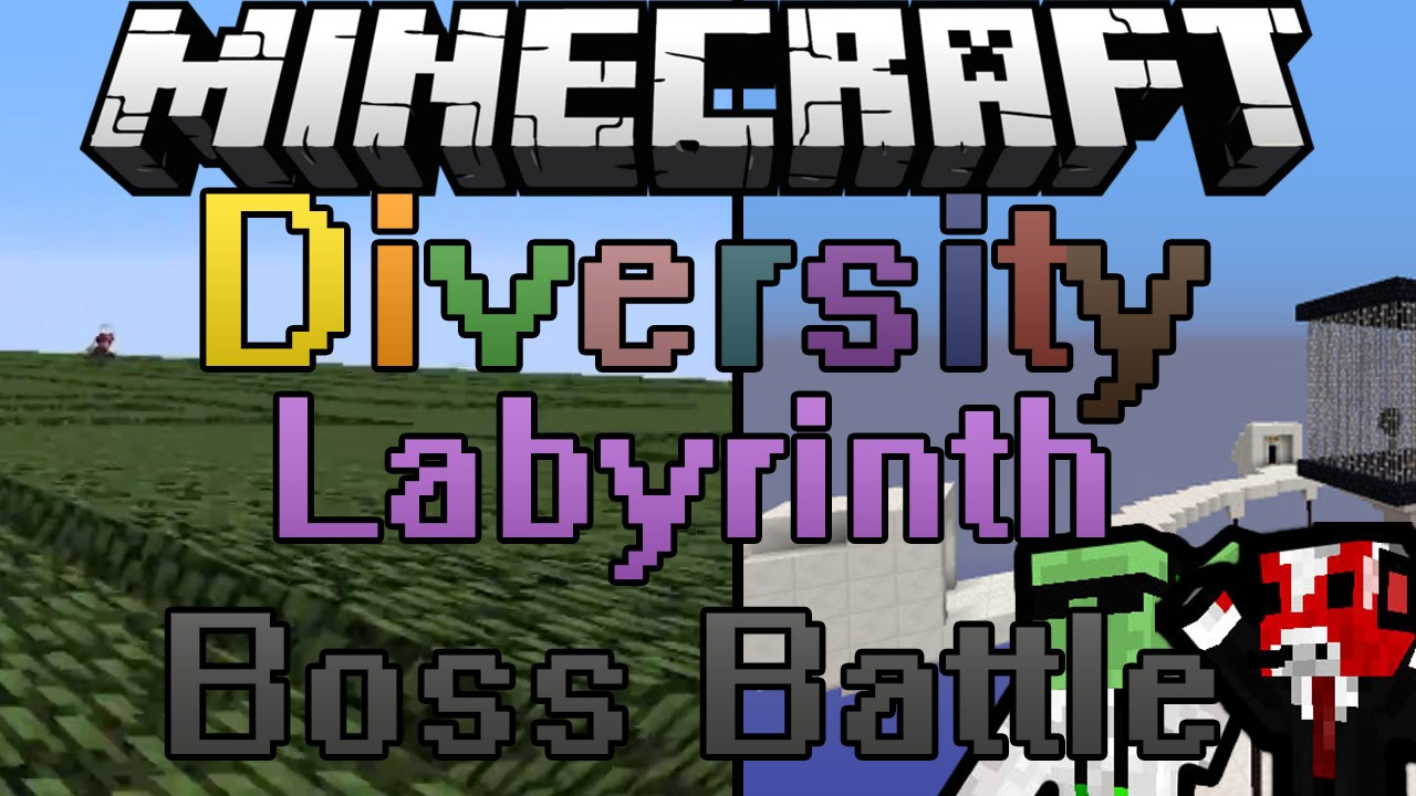 Minecraft World Map - Labyrinth Animal Disco