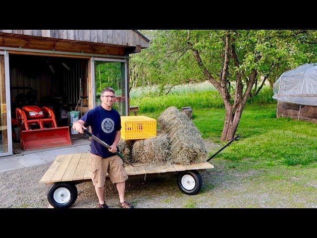 Most Versatile DIY Farm Wagon