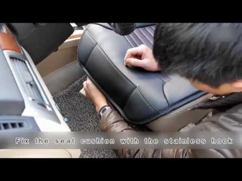 Car Front Rear Seat Covers Full Set Installation