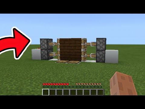MINECRAFT PISTON DOOR TUTORIAL (TikTok)