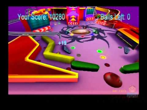 Powershot Pinball PS2 Gameplay ( Liquid Games / Oxygen Interactive) Plsystation 2