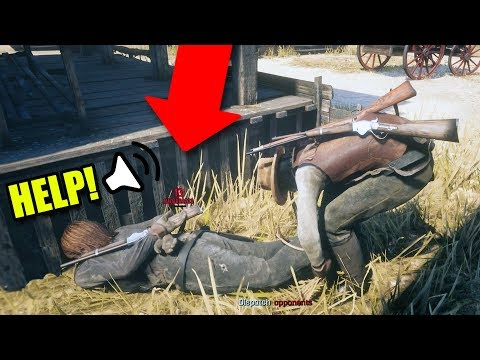 TROLLING PEOPLE WITH THE LASSO ONLINE! | Red Dead Redemption 2 Online Outlaw Life #14