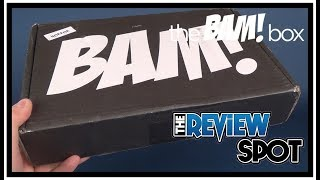 Subscription Spot | The Horror Bam! Box January 2018 Subscription UNBOXING!
