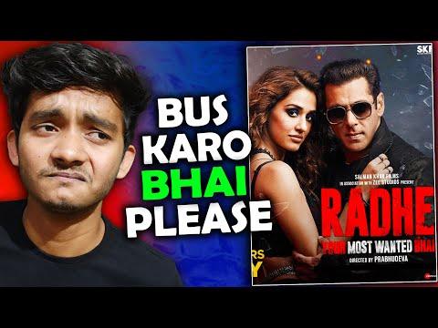 Radhe movie review: please koi bachao mujhe 😰