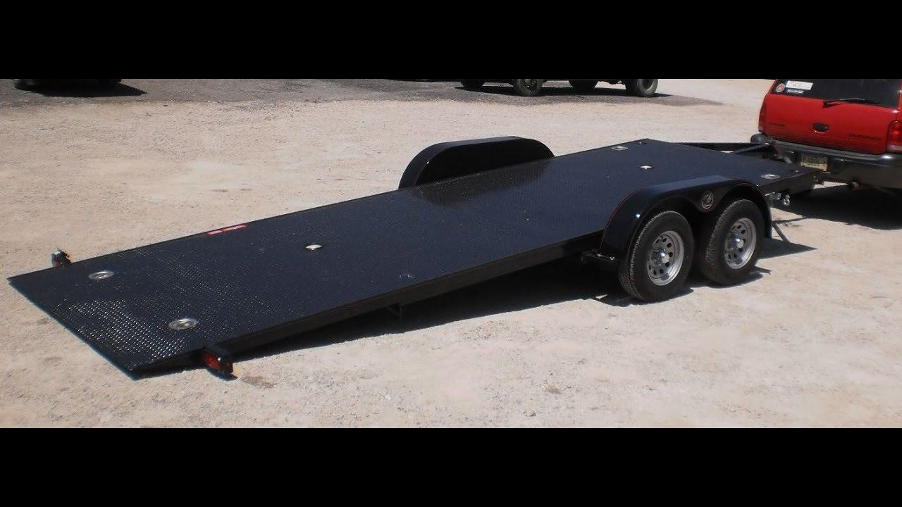 Sloan Kwik Load Texas Rollback Tilt Steel Deck Trailer 717 220