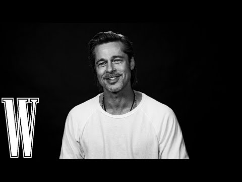 Brad Pitt on His First Kiss, What He Wore to Prom, and His Early Days as an Extra | W Magazine
