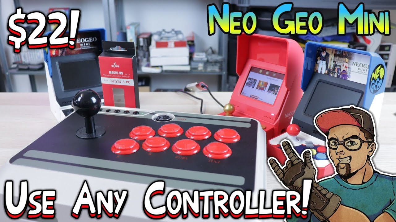 Neo Geo Mini Use Any Controller With The MayFlash Magic-NS Adapter Neo Geo Arcade Stick Wiring Diagram on