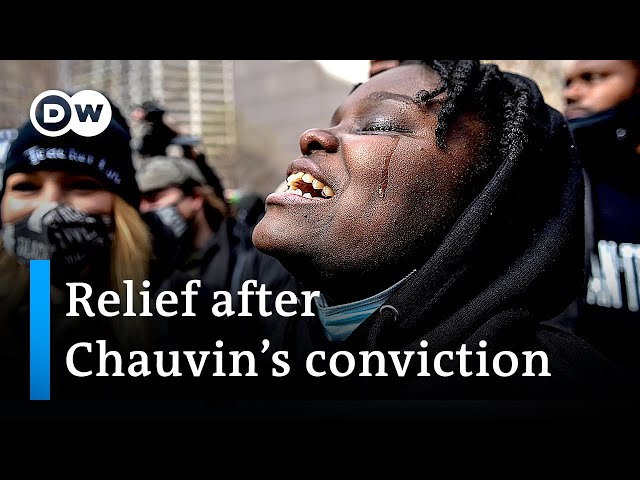 Joy and relief after Derek Chauvin convicted of murdering George Floyd | DW News
