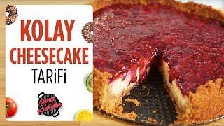 Kolay Cheesecake Tarifi | Cheesecake Nasıl Yapılır?