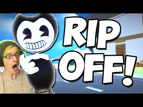 YOUR NEIGHBOR BENDY BOO!   BENDY RIP OFF GAME!
