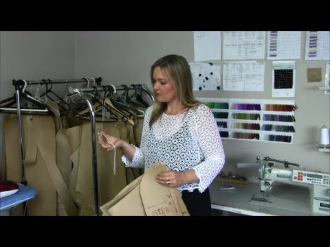 How To Hang and Store Card Sewing Patterns - The Fashion Industry Way