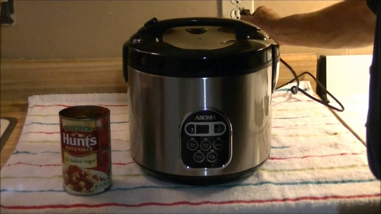 Aroma 20 Cup Rice Cooker Speghetti Youtube
