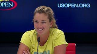 2017 US Open: Coco Vandeweghe R4 Press Conference