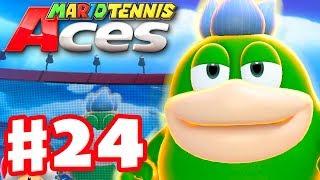 Mario Tennis Aces - Gameplay Walkthrough Part 24 - Spike! Online Tournament! (Nintendo Switch)