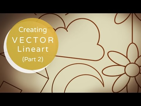 Creating Vector Lineart Part 2: Examples | Illustrator Tutorial