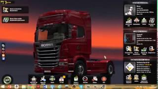 Como colocar ônibus no euro truck Simulator 2 e a skin da expresso tavares