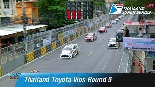 Thailand Super Toyota Vios Round 5 | Bangsaen Street Circuit