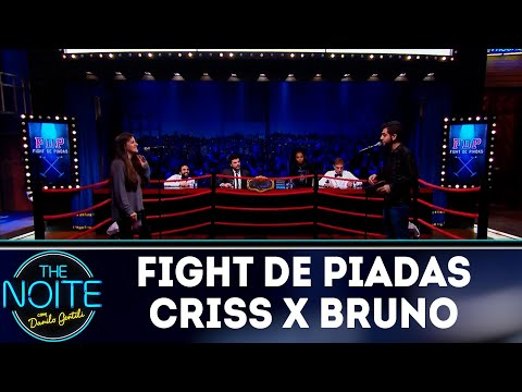 Fight de piadas Criss Paiva x Bruno Lambert - Ep.32 | The Noite (01/11/18)