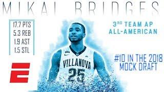 Mikal Bridges' 2018 NBA draft scouting video | ESPN