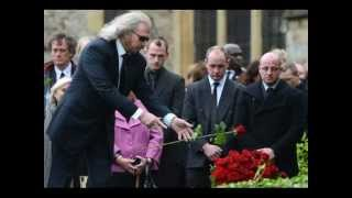 Robin Gibb (Bee Gees) Funeral A Final Farewell (1/2) - I Started A Joke [ CC ]
