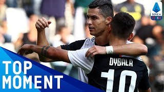 Ronaldo scores header on return from injury! | Juventus 2-0 Spal | Top Moment | Serie A