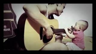 Cho Con, Hơ Ren Lên Rẫy (Mashup) - Guitar ngẫu hứng phiên bản Nhí