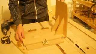 Short Video About My Tenon Jig