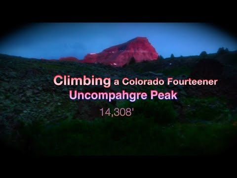 Climbing a Fourteener - Uncompahgre Peak SW Colorado
