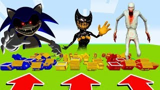 Minecraft : DO NOT CHOOSE THE WRONG VILLAGE!(SONIC.EXE,BNDY,SCP)(Ps3/Xbox360/PS4/XboxOne/PE/MCPE)