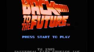 Back to the Future (NES) Music - Stage Theme