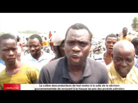 Le mouvement d'humeur des conducteurs de taxi-moto ce matin à Lomé