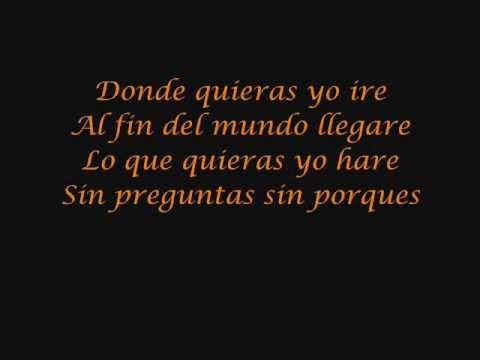 Backstreet Boys - Anywhere for you lyrics - Donde quieras yo ire letras