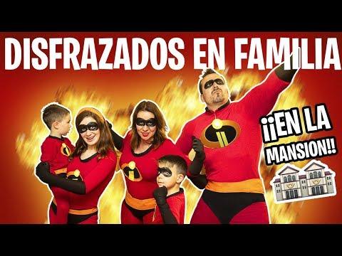 """Nos DISFRAZAMOS EN FAMILIA En LA MANSION YOUTUBER De """"Los Increíbles"""""""