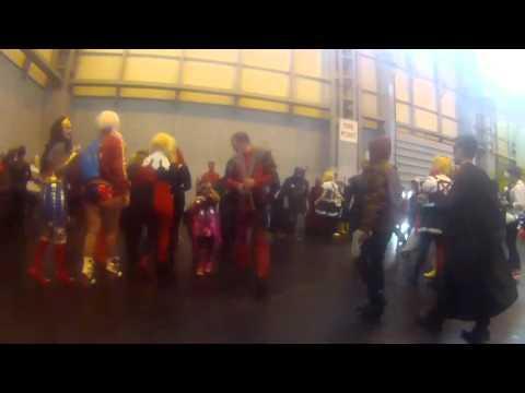 Nick Fury Marvel vs DC Photoshoot  MCM Comic Con Birmingham 2015
