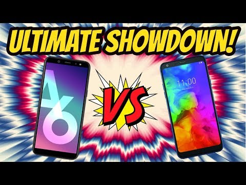 LG Q7 Plus Vs Samsung A6 Full REVIEW (Metro PCS by T-mobile/Cricket/Boost Mobile)