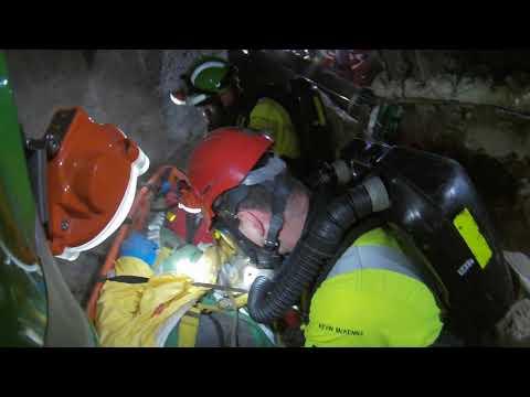 Mines Rescue Training 2017-10-09