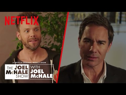 Eric McCormack - How To Sound Smart at Parties | Joel McHale Show | Netflix