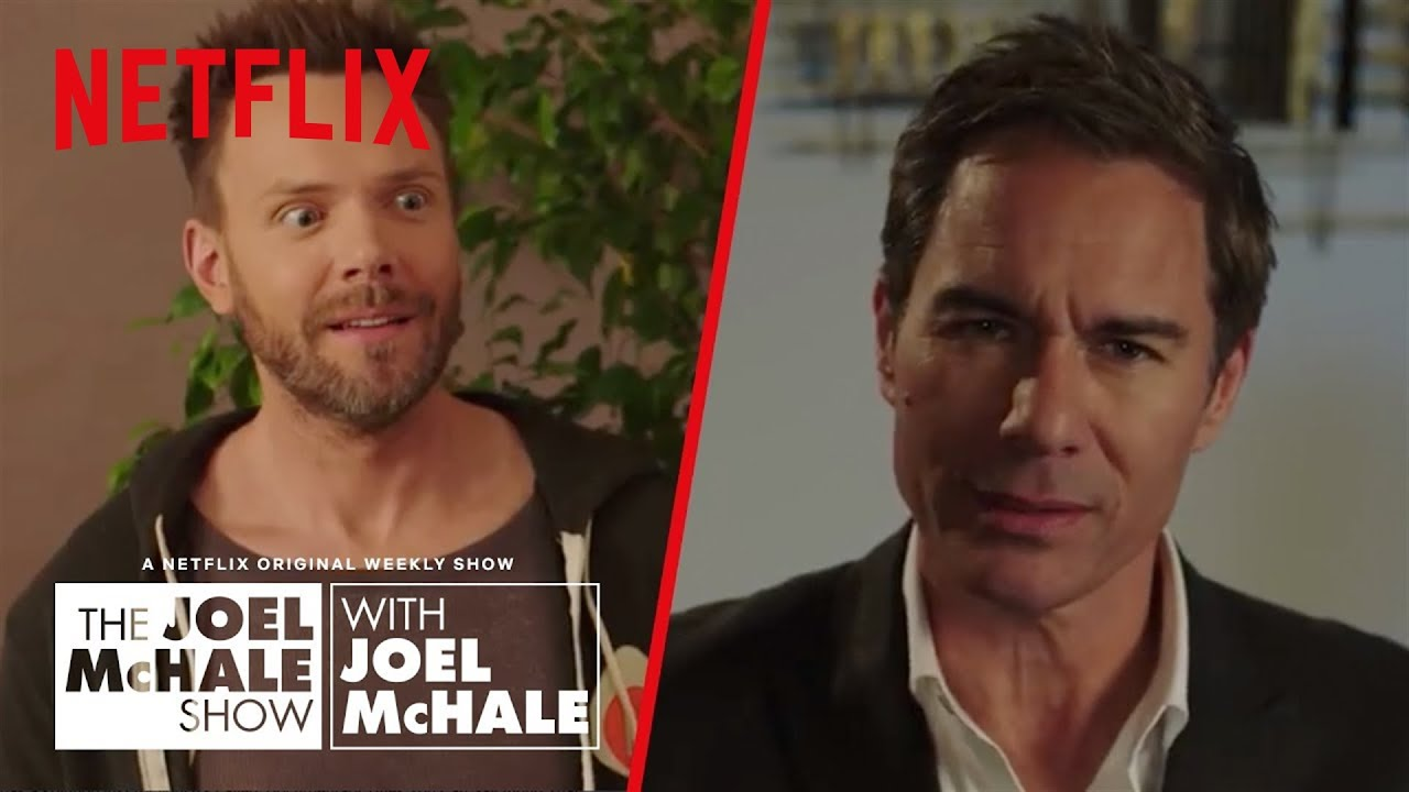 Eric McCormack – How To Sound Smart at Parties | Joel McHale Show | Netflix
