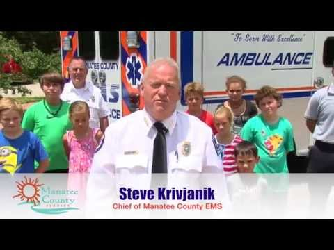 Safety Is All About YOU! A Safety Message From The Manatee County Department Of Public Safety.