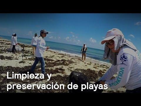El mundo se une para limpiar las playas y preservarlas - Al Aire con Paola