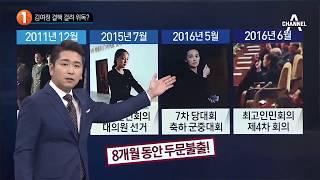 김여정 결핵 걸려 위독?_채널A_뉴스TOP10