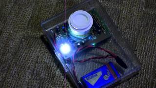 秋月電子の焦電型赤外線センサの実験