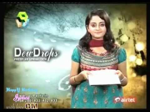 DEW DROPS vj NIVEDHITHA  13-11-2010   FunnyDog TV