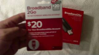 Virgin Mobile Broadband2Go Unboxing