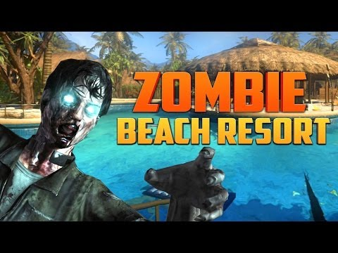 ZOMBIE BEACH RESORT ★ Call of Duty Zombies (Zombie Games)