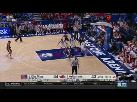 Arkansas vs. Ole Miss 2017 (SEC Quarterfinals)
