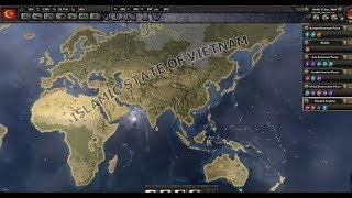 Vietnam World Conquest Timelapse (HOI4 Millenium Dawn)