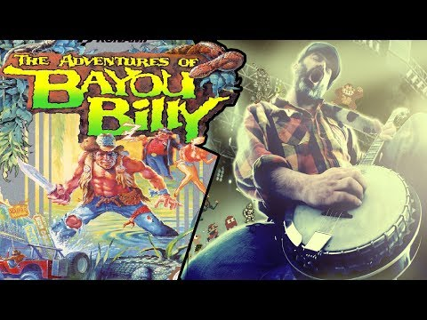 The Adventures of Bayou Billy theme Banjo cover
