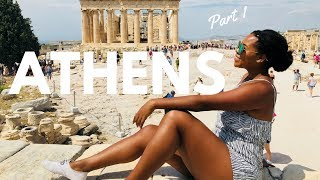 Athens, The Acropolis and More! | SOLO GREEK VLOG | TraveLeah